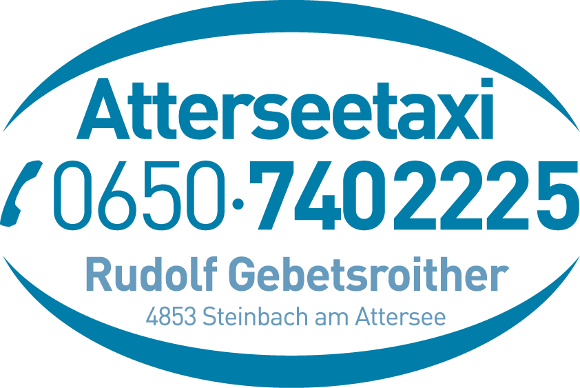 Atterseetaxi Gebetsroither