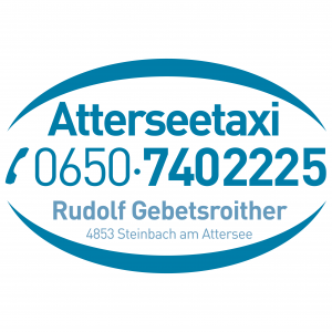 Attersee Taxi Gebetsroither